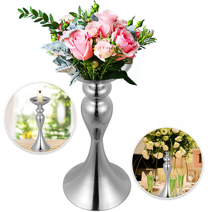 Wedding Flower Stand Rack Vase 10pcs Metal Candle Stand 12.6