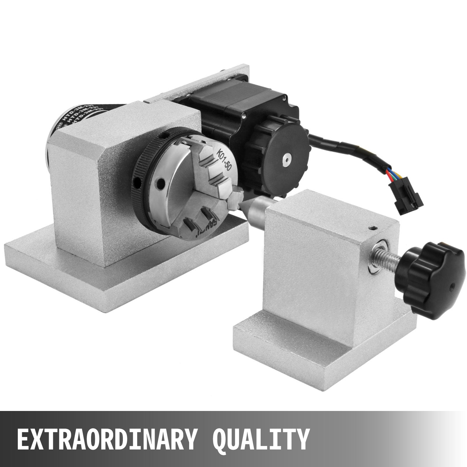 Cnc Router Rotational Rotary Axis For Croll 4th-axis Durable Engraving Machine