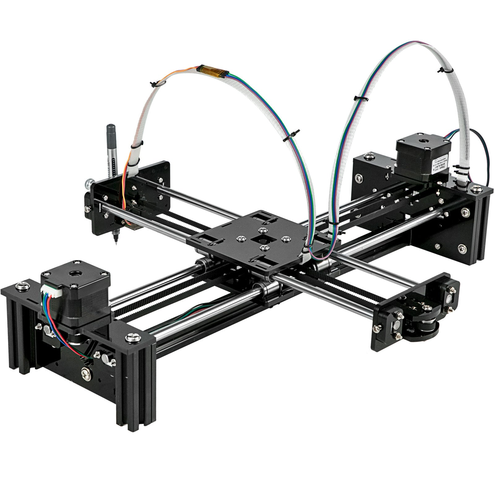 Xy Plotter Kit Diy Xy Plotter 2 Axis Xy Plotter Robot Kit Engraving Machine