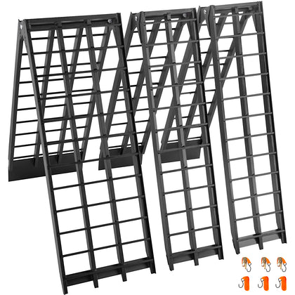 Aluminum Ramps Atv Ramps Two 8x11.25 And One 8x17.25 Ramps Forloading Equipment