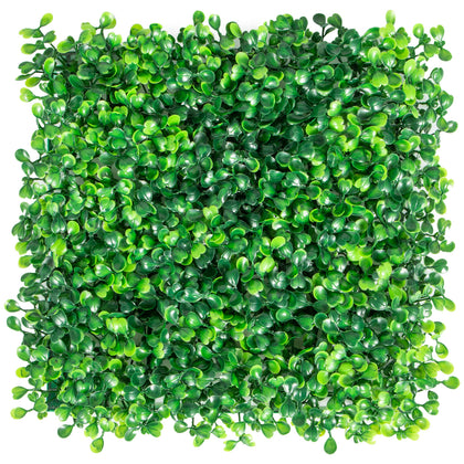 Artificial Boxwood Panel, Hedge Decor 24 Pcs 10