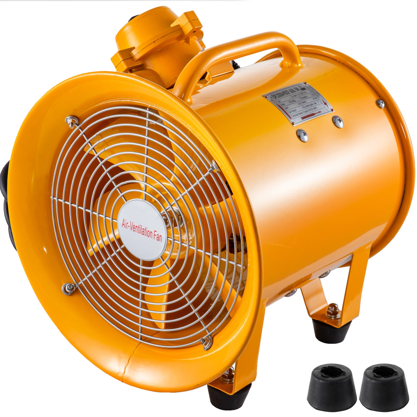 Atex Certifiedventilator Explosion Proof Axial Fan 10'' 110v Extractor Fan Blower