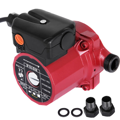 Npt 3/4'' Circulation Pump 110-120v Cold & Hot Water Circulating Pump,3-speed