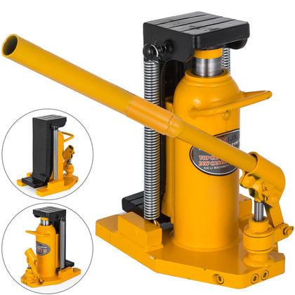 20 Ton Hydraulic Toe Jack Machine Lift Cylinder Heat-treated Machinery