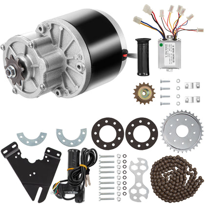 250w 24v Dc Motor Gear Reduction Motor Kit Brush Motor 2700rpm Low Noise