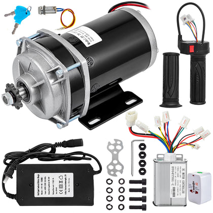 1000w 48v Dc Electric Motor Controller 5 Pcs F Quad Trike Gokart Gear Reduction