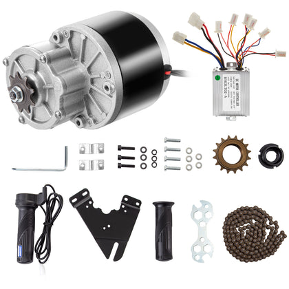 Brushed Motor Go Kart Electric Go Kart Motor 24v 250w Electric Scooter Motor Kit