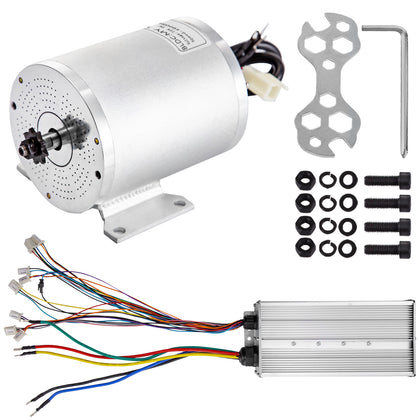 Brushless Electric Motor Controller 72v 3000w Bldc Mini Bike Motorcycle E-bike