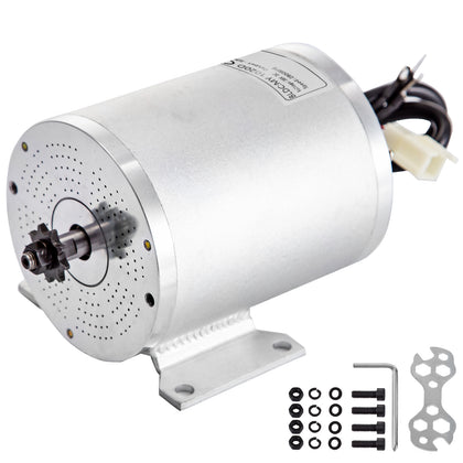 Brushless Motor Go Kart Electric Motor For Go Kart 36v 500w W/mounting Bracket