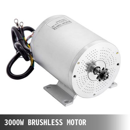 72v Dc Motor Brushless Electric Motor 3000w Bldc Bicycle Efficiency E-bike