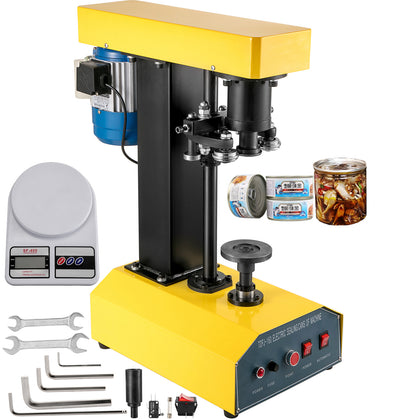 Can Seamer Tin Can Sealer Machine Automatic Capping Machine 62mm Can Sealer