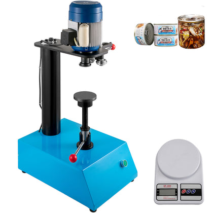 Can Seamer Tin Can Sealer Machine Semi Automatic Capping Machine 62mm Can