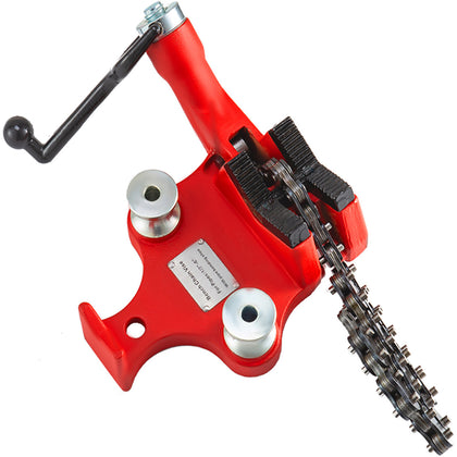 Screw Bench Chain Vise 1/4