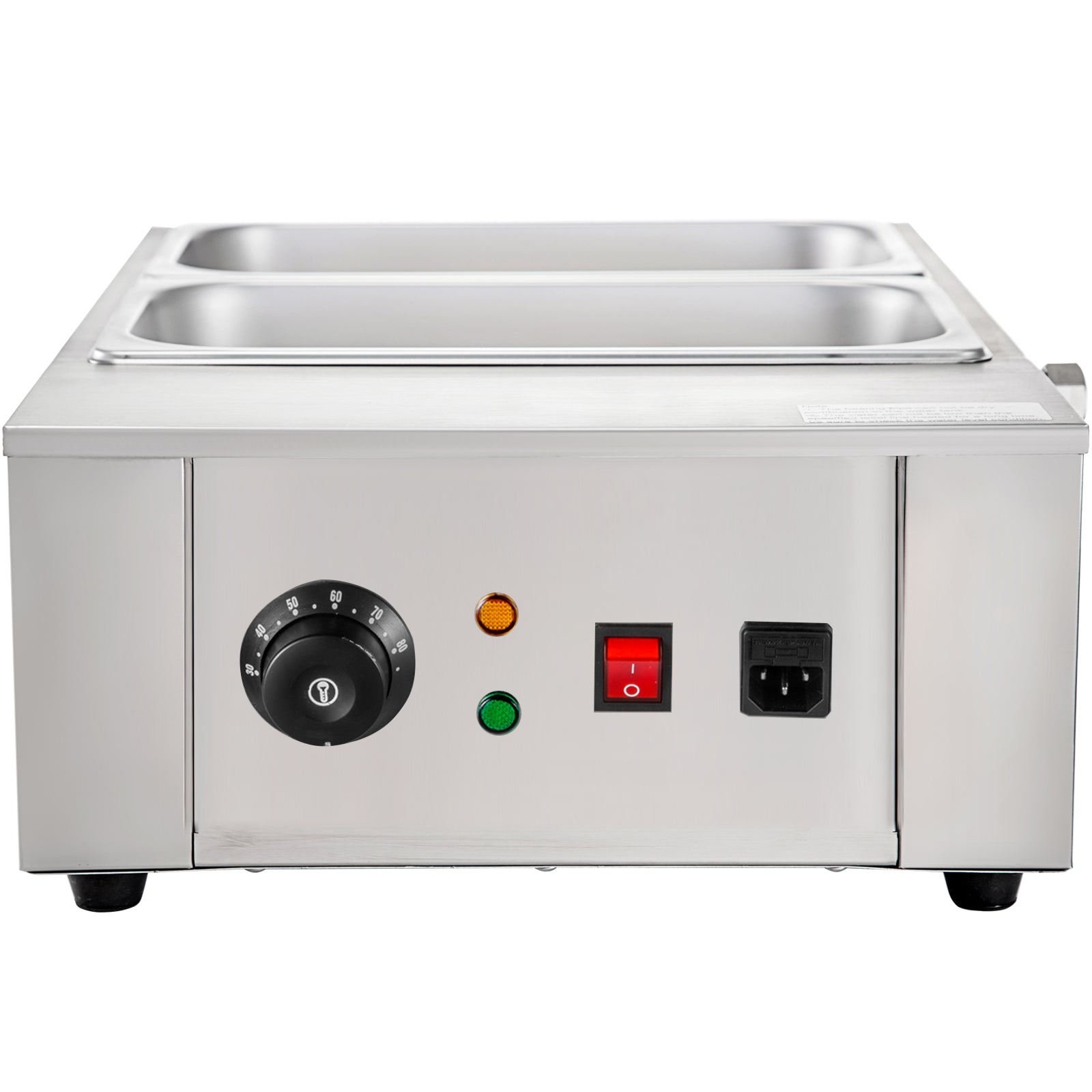 8kg Electric Water Heating Chocolate Melter Melting Machine W/2 Melting Pot