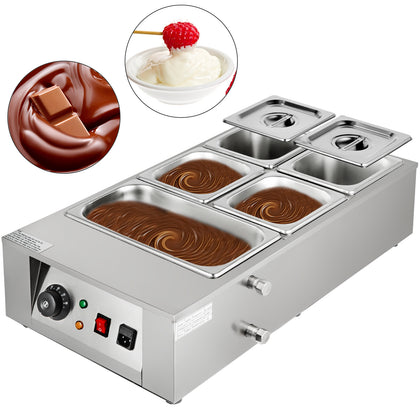 Commercial Electric Chocolate Tempering Machine Melter Maker 12kg /5 Pot