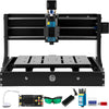 Vevor 2500mw Cnc Machine 3020 Router Kit Mini Laser Engraver 10000rpm Offline Us
