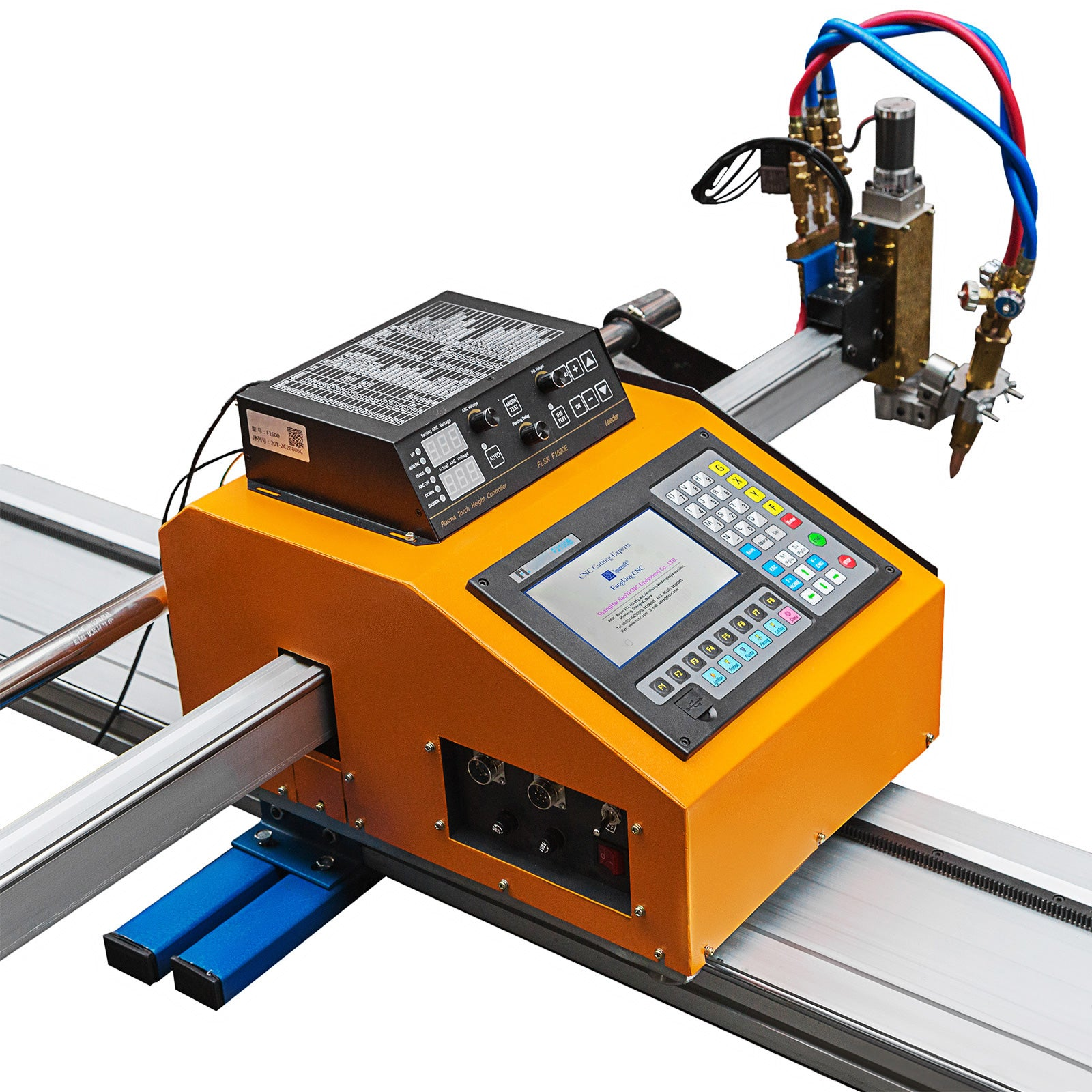 Portable Cnc Machine W/ Thc For Gas/plasma Cutting Effective Accurate Acetylene