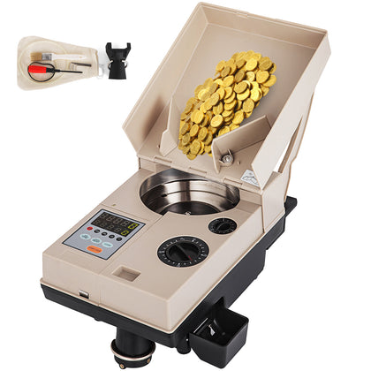 Heavy Duty Coin Counter Off-sorter C500 Up To 2,200 Coins/min