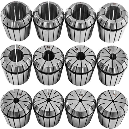 Vevor Precision Er40 Collet Set 12pcs Spring Collets Chuck 1/8