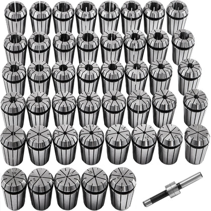 Vevor Collet Set Collet Chuck 45pcs Er32 Workholding Collets 2-20 Mm 1/16-25/32