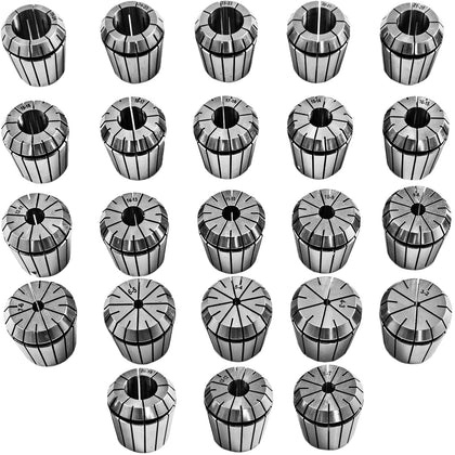 Vevor Precision Er40 Collet Set 23 Pcs Er40 Collet Chuck 3-25 Mm For Cnc Milling