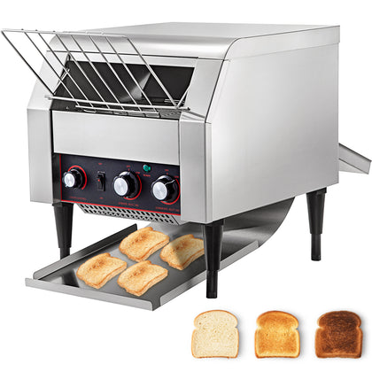 Electric Conveyor Toaster 2600w Adjustable Speed 110v Strong Packing Pro On