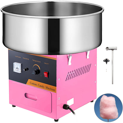 Cotton Candy Machine Electric Commercial Floss Maker Party Carnival Festival