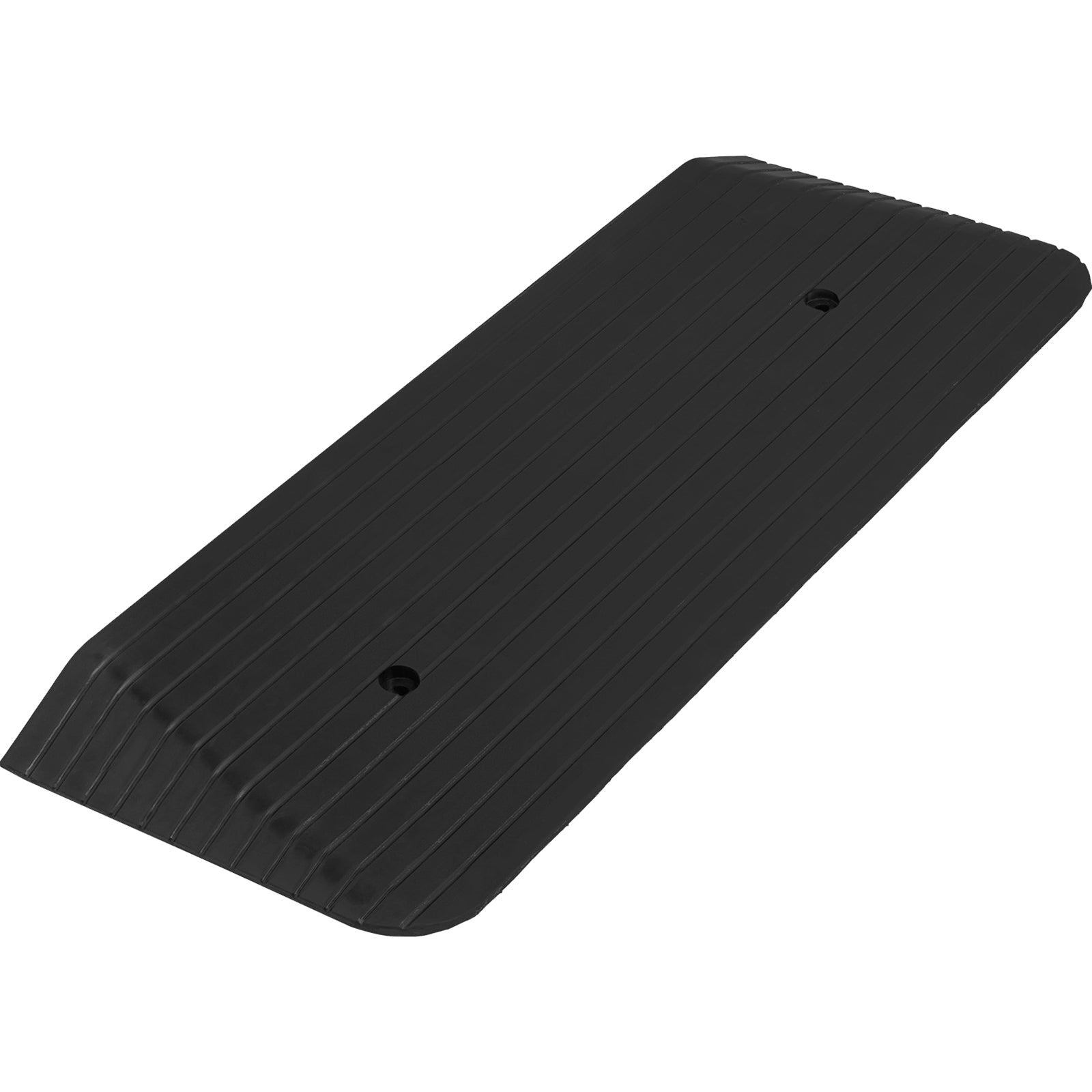 11000lb Threshold Ramp 43''x16''x2'' Rubber Multipurpose Threshold Ramp Updated