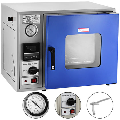 0.9cu Ft Vacuum Drying Oven 23l Lcd Display 450w Heating Power Air Convection Us
