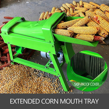 Electric Corn Thresher Corn Sheller Electric 1500w 1000kg/h Popcorn Sheller