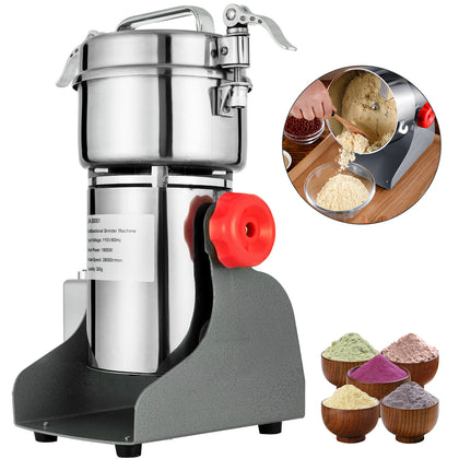 300g Electric Herb Grain Mill Grinder 28000 R/min Multifunction Universal Mills
