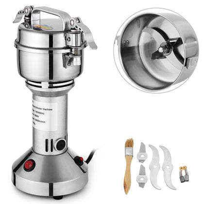 150g Electric Herb Grain Mill Grinder Grinding Machine 28000 R/min Multifunction