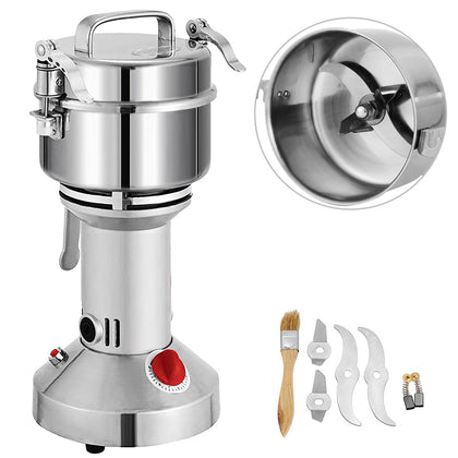 350g Electric Herb Grain Grinder Powder Machine Multifunction Mills High Speed