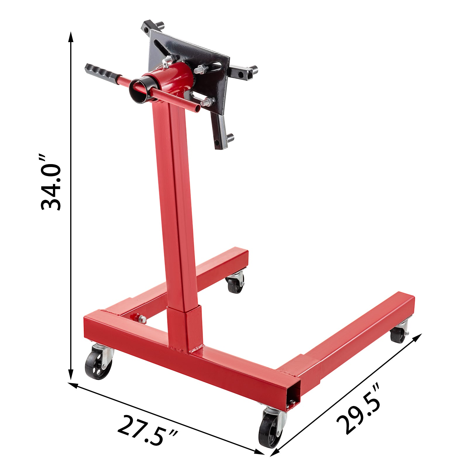 Engine Stand Motor Stand 1500lb Capacity Rotating Automotive Tools In Steel