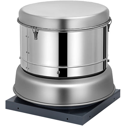 "Restaurant Hood Roof Exhaust Fan 200cfm 8.6""blade Commercial Apartment Hot"