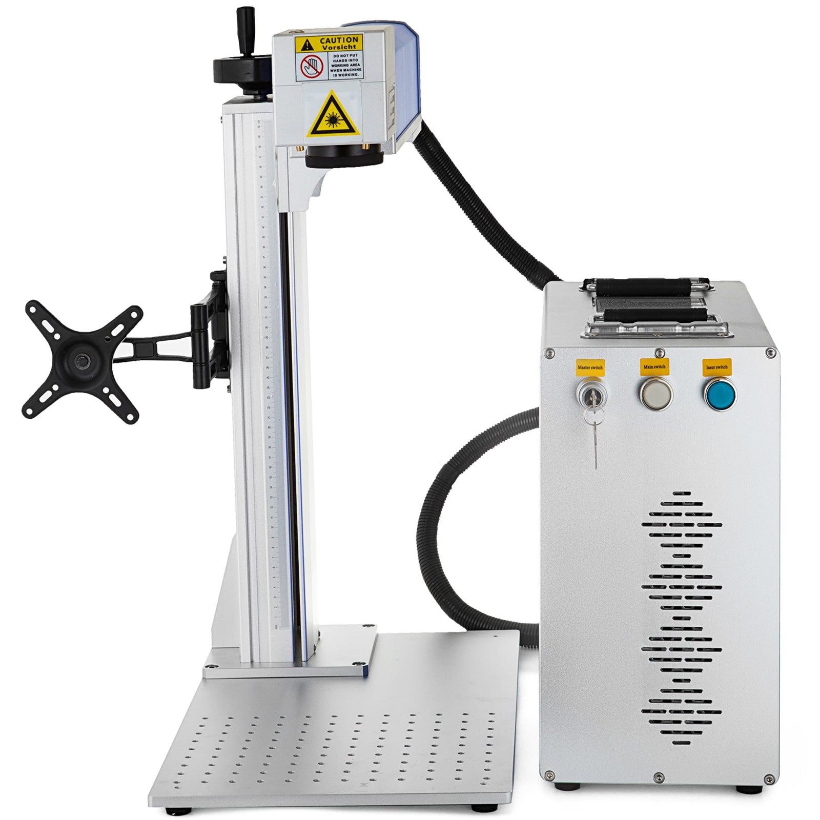 20w Fiber Laser Marking Machine Photoshop Novel Design 32/64 Bit Split Style