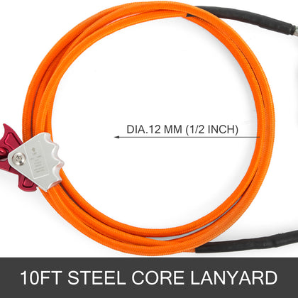 Steel Core Lanyard Kit Flipline 1/2