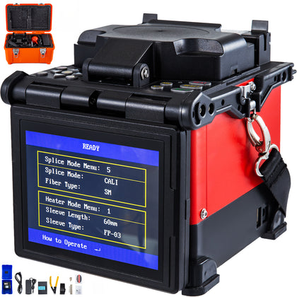 Vevor Optical Fiber Fusion Splicer --jw4108 --ftth Fiber Optic Splicing