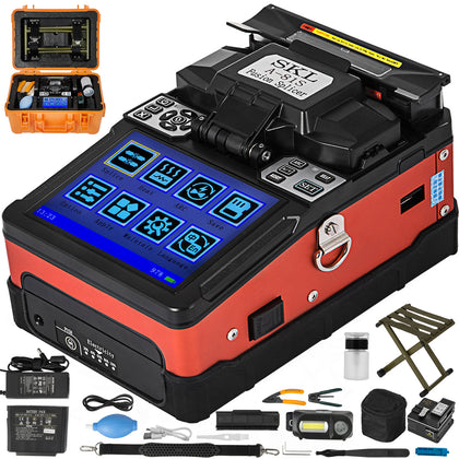 A-81s Ftth Precision Optical Fiber Fusion 9s Splicer Fiber Optic Welding Machine
