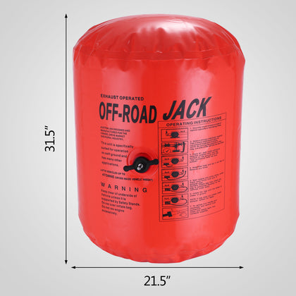 Air Jack Exhaust 4x4 Off Road 4 Tonne Lift Capacity Most Durable Hose Extension