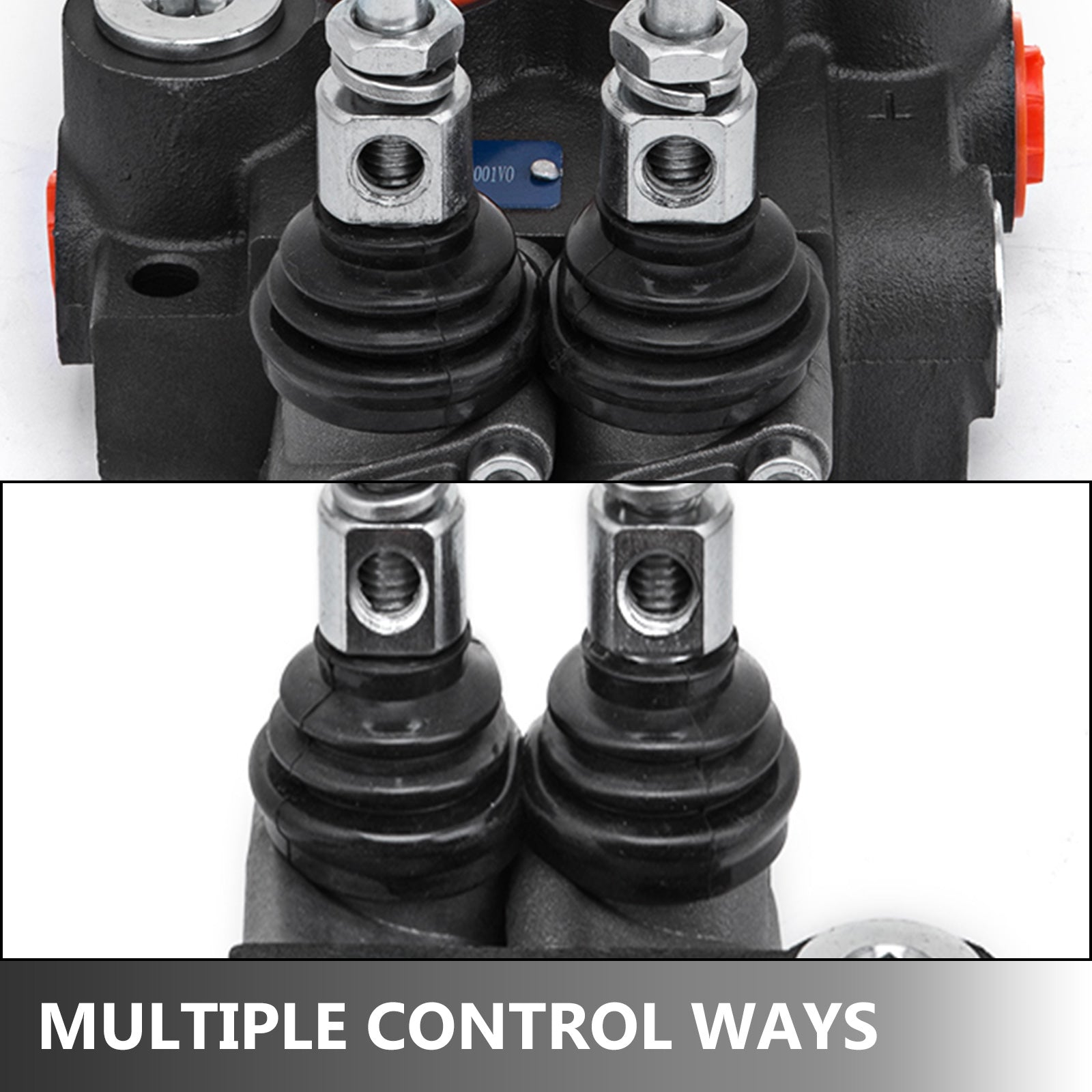 2 Spool Hydraulic Directional Control Valve 11 Gpm 4300psi Small Tractors Motors