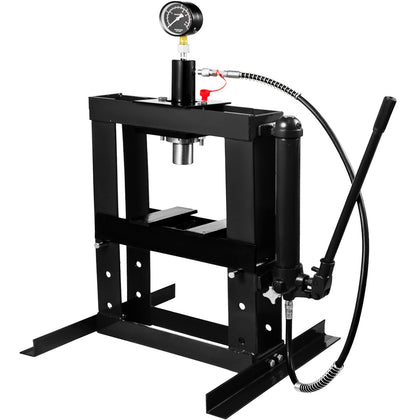 Hydraulic Press Bench Top Mount 375mm(14.8'') Height High Quality Advanced Tech