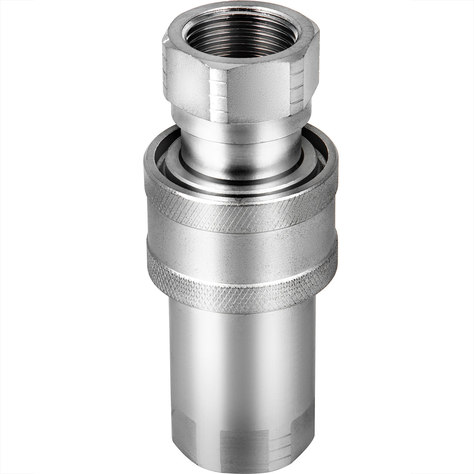 "Vevor 1"" Npt-iso 5675 Hydraulic Coupler Pioneer Ball Style Quick Connect Coupler"