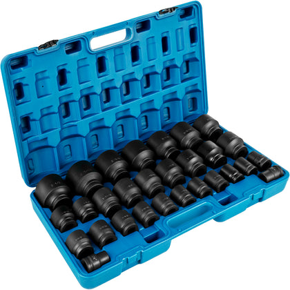 Vevor Impact Sockets Set 3/4 Inch Drive 29 Pcs 3/4 Inch - 2-1/2 Inch 6-point Set