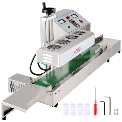 Induction Bottle Sealer Continuous Induction Sealer For Cap Diameter 0.8-3.1inch