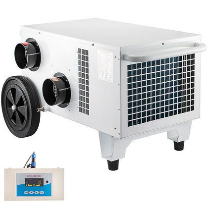 Portable Industrial Air Conditioner 16548 Btu R407c Refrigerant With Lcd Display