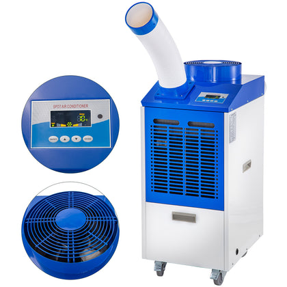 Portable Air Conditioner Spot Cooler 12000btu 1000w Variable Speed Lcd Screen