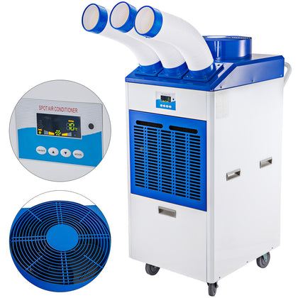 22000btu/h Industrial Air Conditioner Double Pipe Portable Air Cooler 3000w
