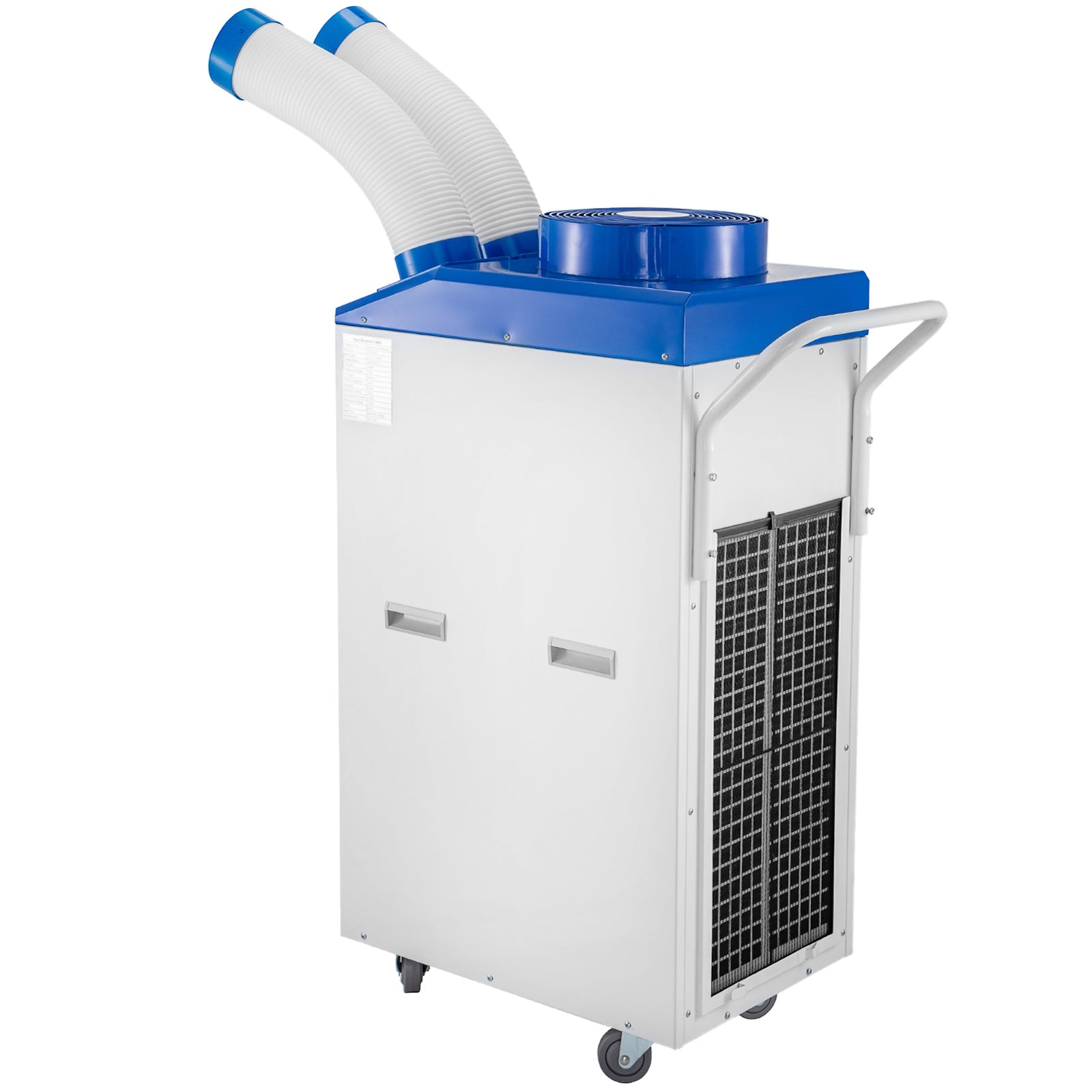 15000btu/h Industrial Air Conditioner Double Pipe Portable Air Cooler 1700w