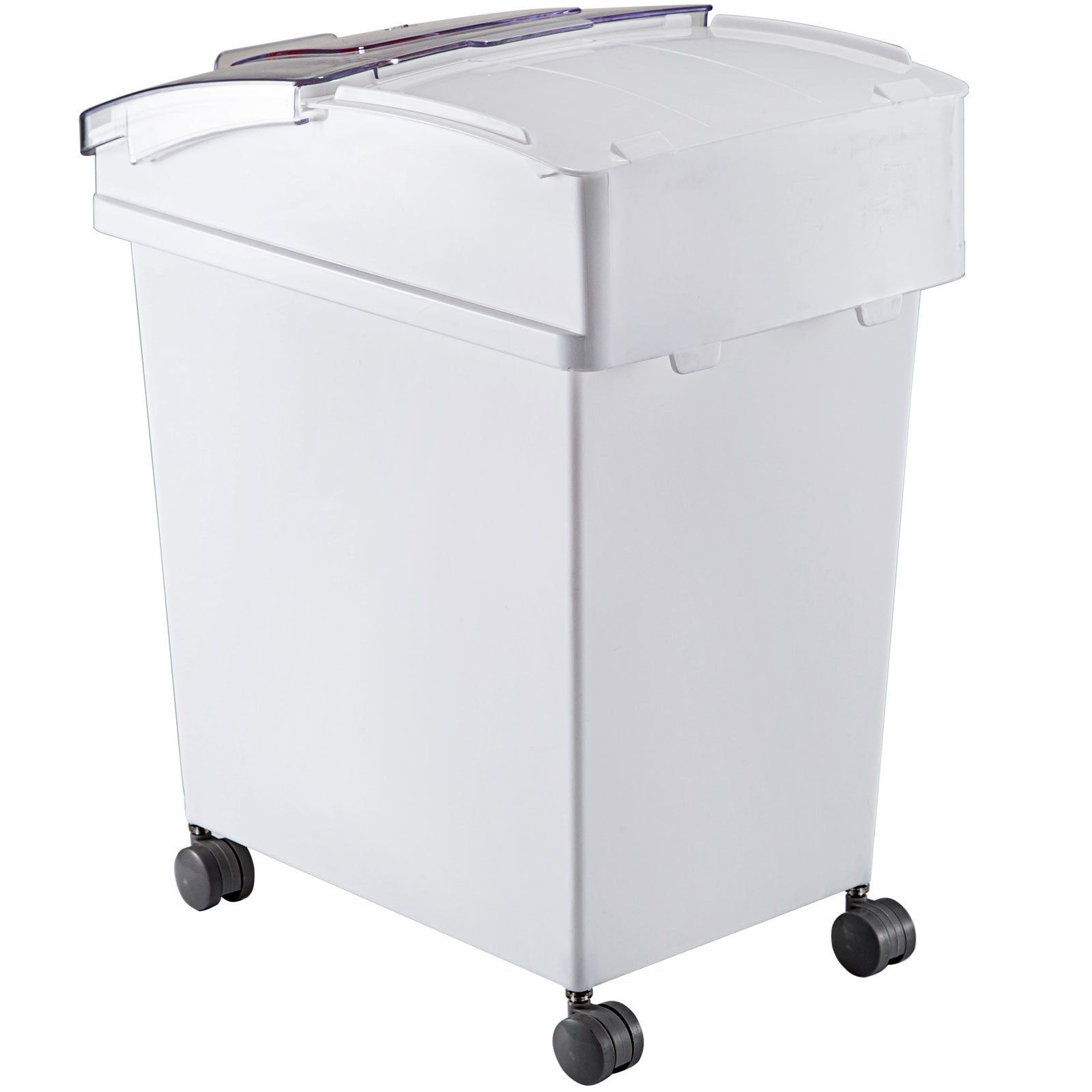 4 Pack Ingredient Storage Bin 10.5 Gal 6.6 Gal Flour Bin On Wheels W/sliding Lid